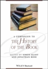 Image for A companion to the history of the book