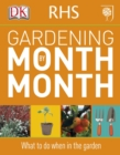 Image for RHS gardening month by month