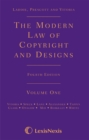 Image for The modern law of copyright and designs