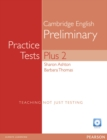 Image for PET Practice Tests Plus 2: Book with CD-Rom