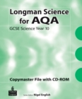 Image for Longman Science for AQA : GCSE Science Copymaster File and CD-ROM : For AQA GCSE Science A