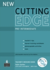 Image for New cutting edge: Pre-intermediate Teacher's resource book