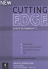 Image for New cutting edge: Upper intermediate Teacher's resource book