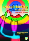 Image for Critical thinking for OCR AS level: Teachers' guide