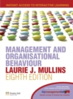 Image for Management and organisational behaviour