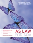 Image for AS law for AQA