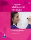 Image for Longman Mathematics for IGCSE Practice Book 1