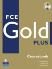 Image for FCE Gold Plus Coursebook and CD-ROM Pack