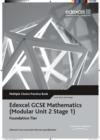 Image for Edexcel GCSE Maths Modular Foundation Multiple Choice Pack