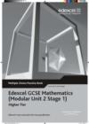 Image for Edexcel GCSE Maths Modular Higher Multiple Choice Pack