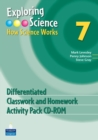 Image for Exploring Science : How Science Works Year 7 Differentiated Classroom and Homework Activity Pack CD-ROM