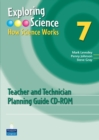 Image for Exploring Science : How Science Works Year 7 Teacher and Technician Planning Guide CD-ROM