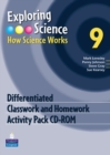 Image for Exploring Science : How Science Works Year 9 Differentiated Classwork and Homework Activity Pack CD-ROM