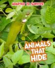 Image for Animals that hide