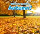 Image for What can you see in autumn?