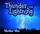 Image for Thunder and lightning