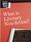 Image for What is literary non-fiction?