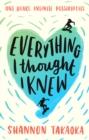Image for Everything I thought I knew
