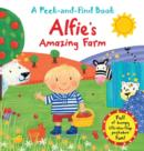 Image for Alfie's amazing farm  : a peek-and-find book