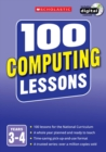 Image for 100 computing lessonsYears 3-4