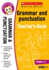 Image for Grammar and punctuation: Years 1-2
