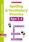 Image for Spelling and vocabulary workbookYear 1