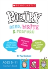 Image for Scholastic poems: Teacher resource book