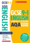 Image for English language and literature: Revision guide for AQA