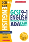 Image for English language and literature: Exam practice book for AQA