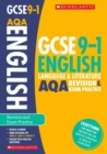 Image for English language and literature: Revision and exam practice book for AQA