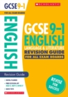 Image for English language and literature: Revision guide for all boards