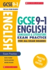 Image for English language and literature: Exam practice book for all boards
