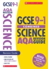 Image for Combined sciences: Revision guide for AQA