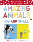 Image for Amazing animals big and small  : a first book of opposites