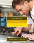 Image for Maths & English for automotive  : graduated exercises and practice exam