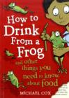 Image for How to drink from a frog