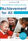 Image for Achievement for all  : raising aspirations, access and achievement.
