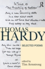 Image for Thomas Hardy  : selected poems