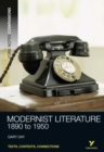 Image for Modernist literature, 1890 to 1950