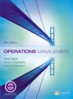 Image for Operations management : WITH Quantitative Analysis in Operations Management AND Companion Website with Gradetracker Student