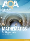 Image for AQA GCSE mathematics for higher sets