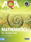 Image for AQA GCSE mathematics for middle sets