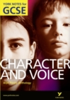 Image for AQA poetry anthology: Character and voice :