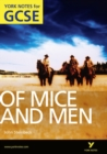 Image for Of mice and men, John Steinbeck  : notes