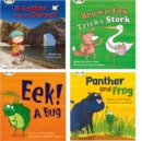 Image for Learn to Read at Home with Phonics Bug: Pack 5 (Pack of 4 reading books with 3 fiction and 1 non-fiction)