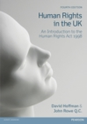 Image for Human rights in the UK  : an introduction to the Human Rights Act 1998
