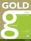 Image for Gold first: Coursebook and active book pack