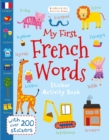 Image for My first French words  : sticker activity book