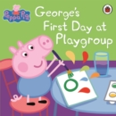Image for George's first day at playgroup