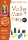 Image for Maths made easyAges 6-7, Key Stage 1 advanced